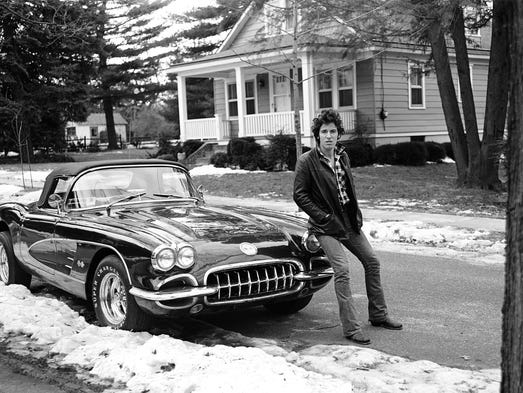 "Frank Sefanko's 'Corvette Winter,' featured in ""Bruce"