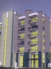 Plans for the Chase Bank building in downtown Bremerton, including a major overhaul to its eyebrow-raising facade.