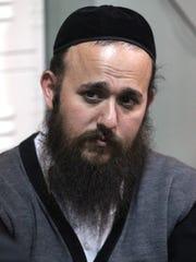 East Rampo school board President Yehuda Weissmandl