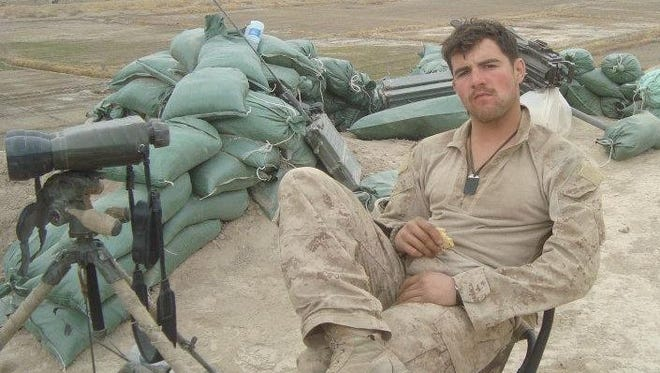 Zach McGuffey, of Independence, served in the U.S. Marine Corps, 2007-2011, in Afghanistan and Iraq.