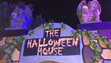 Casa decorada por Halloween en Gilbert.