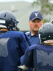 New Yale High School coach Scott Brown.