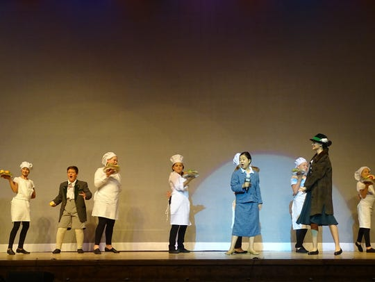 The Marion Palace Theatre's production of the musical