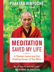"The cover of ""Meditation Saved My Life."""