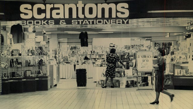 The Scrantom's store in Midtown Mall is seen in this 1993 photo.