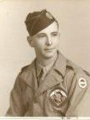 This picture of Pvt. R.E. Daigle, the author's uncle,