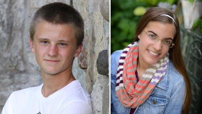 Matthew Smeester and Sierra Polzin are Scholars of the Week from Denmark High School.