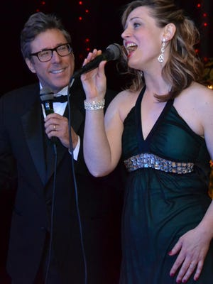Dan Templin, of Grand Ledge, and Kelly Sandula-Gruner of Delta Township, are among the performers in the upcoming musical revue.