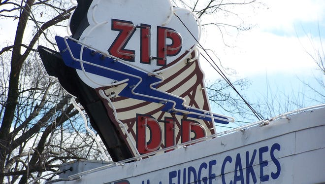 The Zip Dip ice cream shop on Harrison Avenue in Green Township.