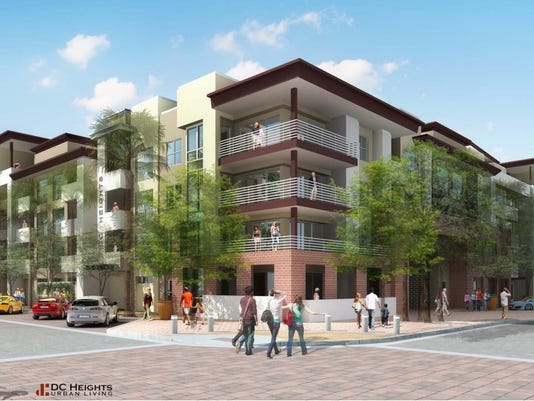 Proposed Chandler apartments