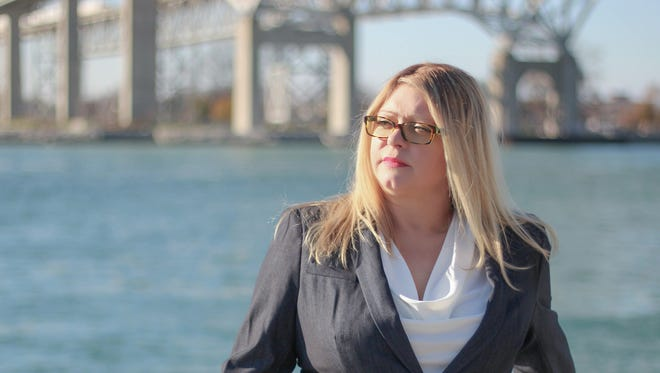 Kimberly Bizon, of Worth Township, is running for the Democratic spot in the race for Michigan's 10th Congressional District. She would challenge U.S. Rep. Paul Mitchell, R-Dryden Township, who currently serving is first term in the role.