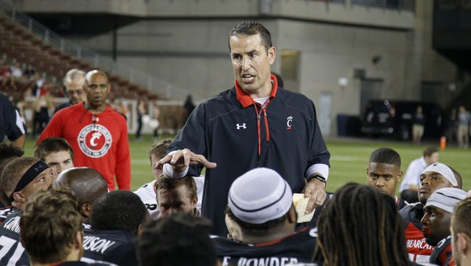 University of Cincinnati football coach Luke Fickell continues to land Top-50 Ohio recruits for his 2018 class.