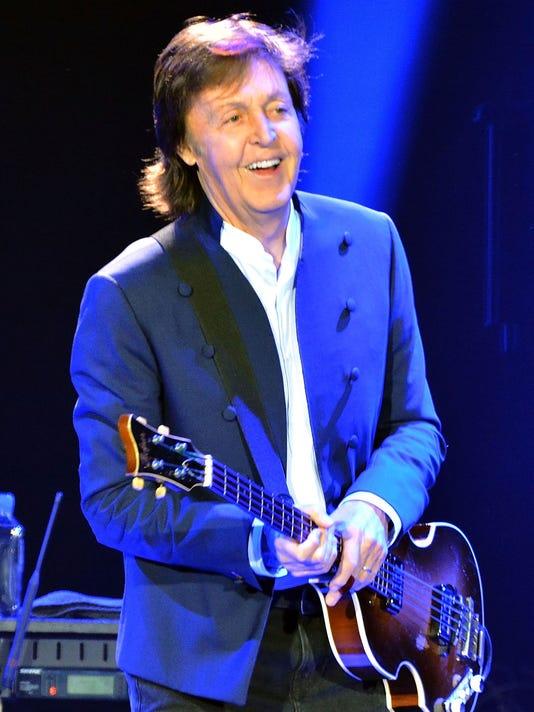 Paul McCartney Performs At O2 Arena In London