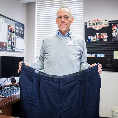 Brian McDonnel lost more the 300 pounds through diet,