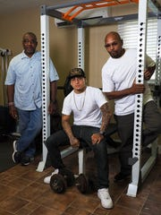 Pictured together at the Stockton (Calif.) Rehabilitation