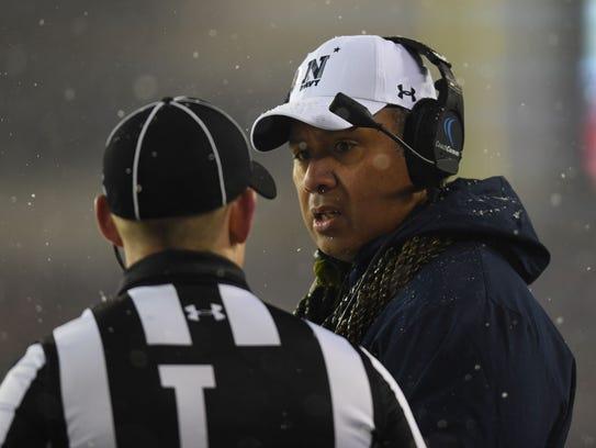 """We've got to get better,"" Navy Midshipmen head coach"