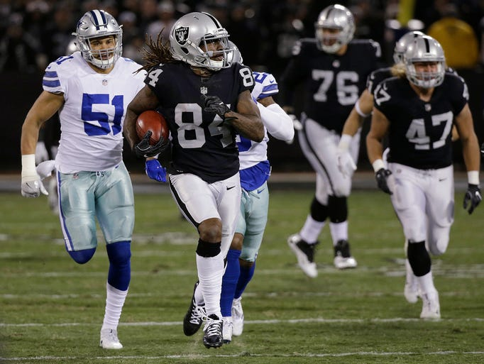 FILE - In this Dc. 17, 2017, file photo, Oakland Raiders'