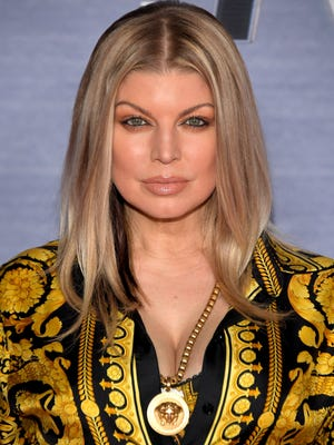Fergie attends the season finale viewing party for FOX's 'The Four' on Feb. 8, 2018 in West Hollywood.