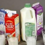 Milk, a noun