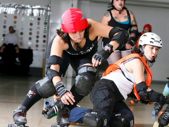 The Hurricane Alley Roller Derby team will face the Conroe Roller Girls at 7 p.m. Saturday, Aug. 19, at the American Bank Center exhibit hall, 1901 N. Shoreline Blvd. Cost: $10 pre-sale from skaters; $10 + fees online and day of event. $5 kids. Information: www.hurricanealleyrd.com.