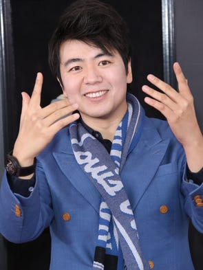 Lang Lang and his magic hands.