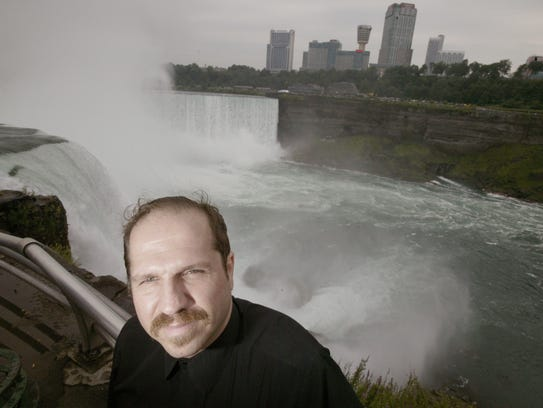 On October 20, 2003 Kirk Jones of Canton leaped from the railing along the Niagara River in Ontario, Canada and became the first human to survive the 300-foot drop over Horseshoe Falls with nothing but the clothes on his back. He is believed to have died in April after a second attempt. He was 53.