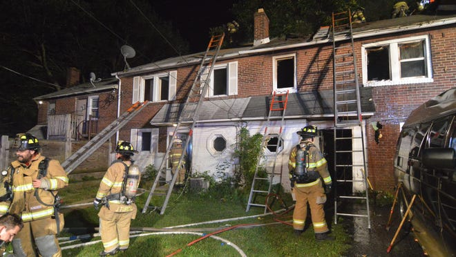 Seven area fire companies responded to the first block of Bedford Drive at about 10:50 Monday night.