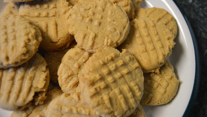 """Homemade peanut butter cookies are one of Sandy Kaminsky's favorite treats in the fall. Her cookie recipe was recently featured in the cookbook """"Food & Art."""""""