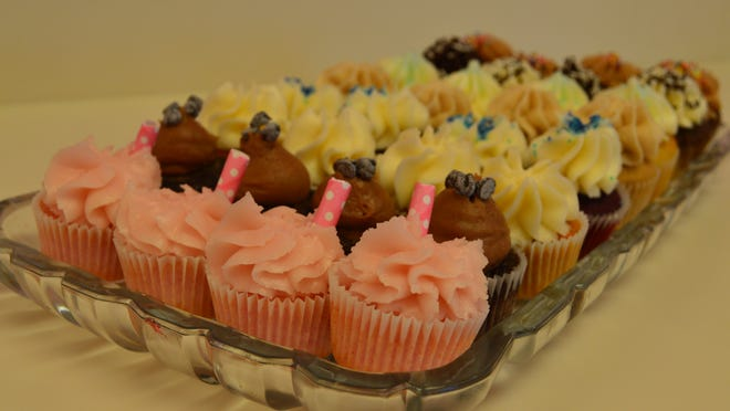 Every cupcake flavor at So Sweet is available in a mini version.