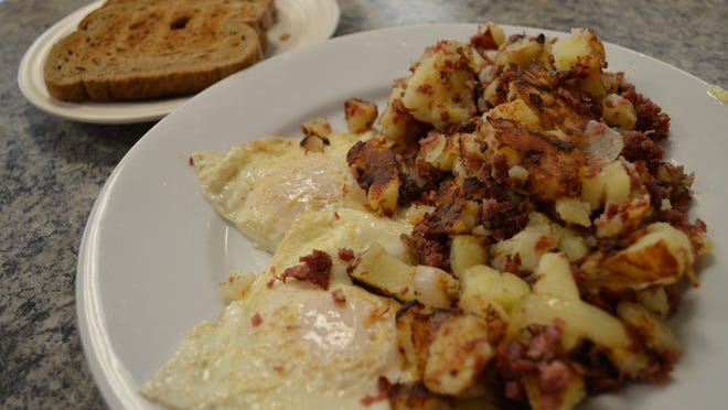 Corned beef hash is a staple item on the Jill's Joint menu.