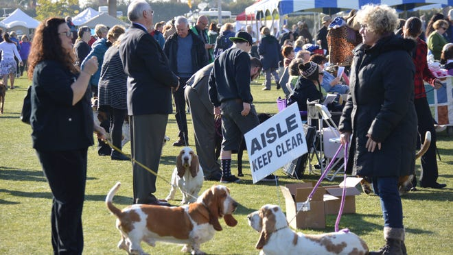 One of the United States' five largest dog shows, the Palm Springs Kennel Club Dog Show, played host to just shy of 7,000 dogs Saturday and Sunday at the Empire Polo Club in Indio.