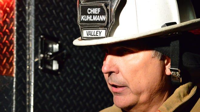 Hurricane Valley Fire Chief Tom Kuhlmann.