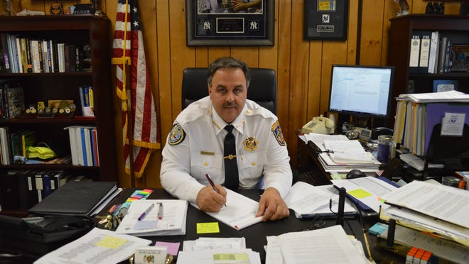 Sheriff Louis Falco III says Rockland County Executive Ed Day's proposed cuts to the patrol division with decimate the department.