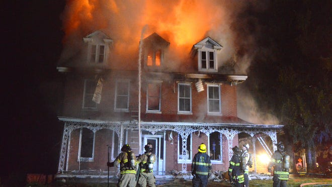State fire officials said Monday that this Thanksgiving Eve fire, which destroyed the historic Abram Chandler House in the Milltown area, has been ruled arson.