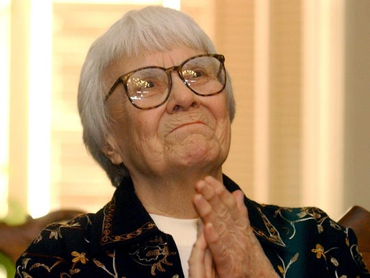 "Harper Lee, author of ""To Kill a Mockingbird"