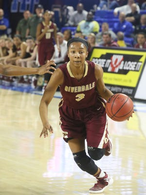 Anastatia Hayes and Riverdale take on Memphis Central during the Class AAA title game on Saturday, March 11, 2017.