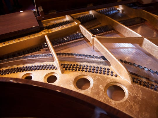 The Bosendorfer Opus No. 50.000 piano valued at $750,000 will be featured in a concert Friday at the Kimmel Center in Philadelphia.