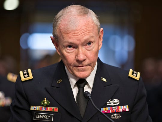 Gen. Martin Dempsey, former chairman of the Joint Chiefs