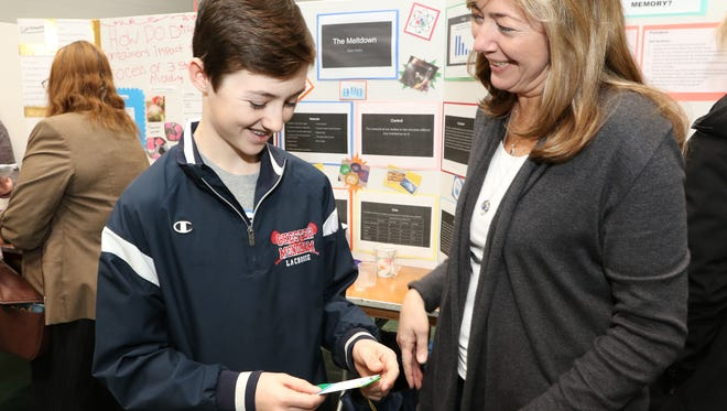 Chester Science Fair held at the Black River Middle School in NJ, March 4, 2017. Mary Iuvone/For The Daily Record