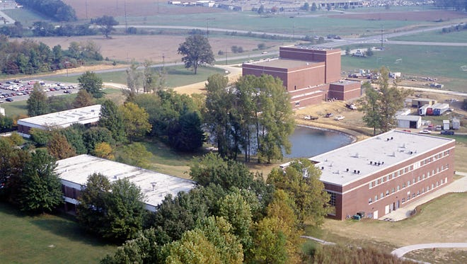 Aerial of the Henderson Community College 10/8/93 MKL