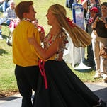 Cole Mountain Cloggers perform at the Heritage Festival on the Blue Ridge Parkway in 2013. The group will be back at this weekend's fest.
