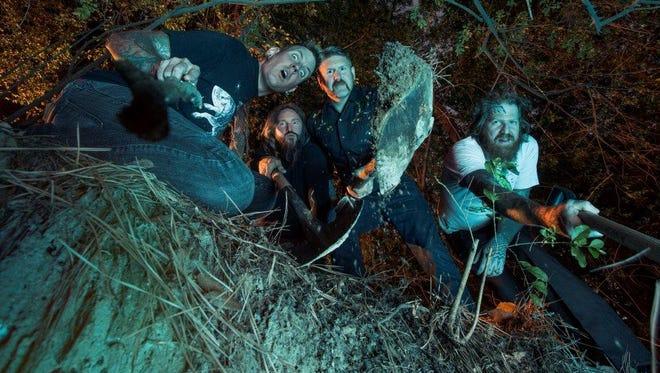 Mastodon brings its hard-rock sound to Higher Ground on Sunday.