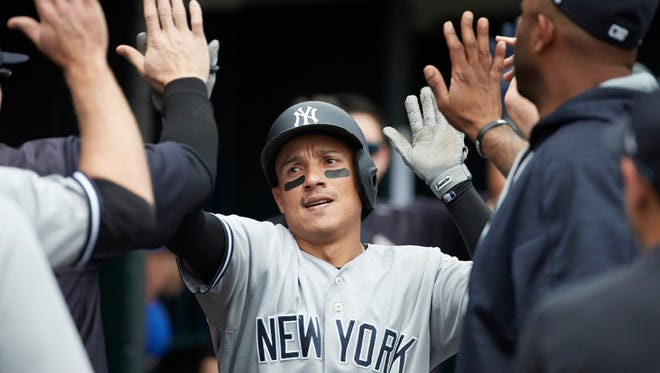 Yankees infielder Ronald Torreyes has produced consistently all season despite getting sporadic opportunities.