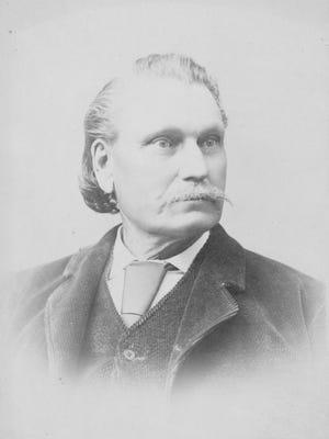 George Hull, creator of the Cardiff Giant, around 1870.