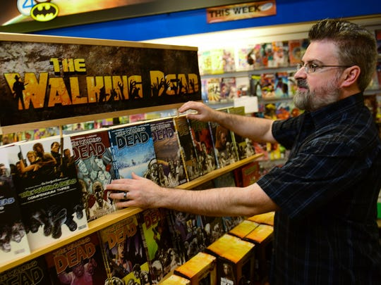 John Mizzer, manager/owner Comic World, is gearing