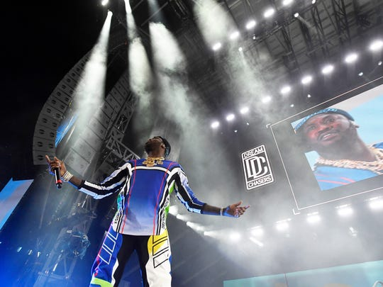 Meek Mill performs during Hot 97's Summer Jam at MetLife