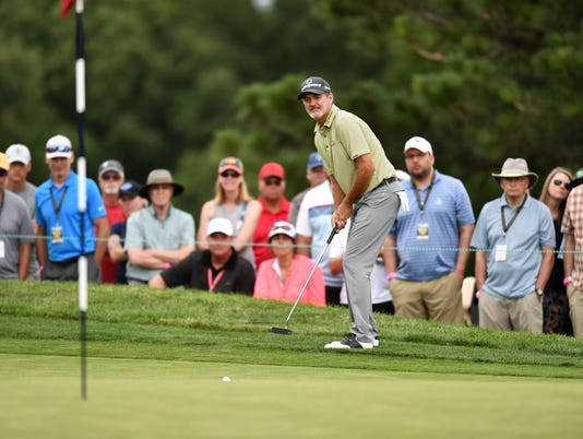 USP PGA: U.S. SENIOR OPEN CHAMPIONSHIP - THIRD ROU S GLF USA CO