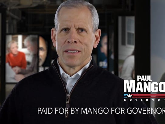 """""""I'm not just gonna cut your property taxes. I'm gonna get rid of them,"""" Republican Paul Mango said in a campaign ad."""