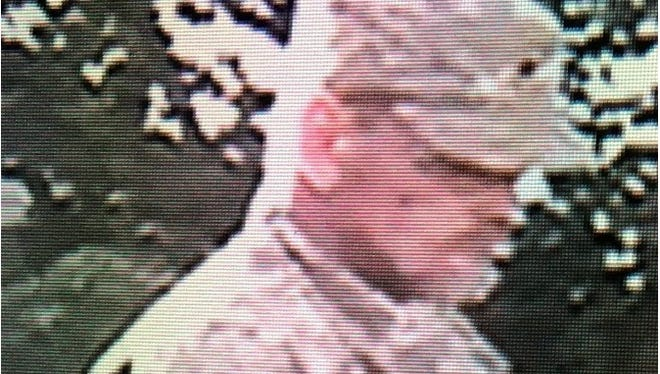 This man is suspected of burglarizing a house in the 2900 block of Indiana 26 West. The burglary happened between 6 p.m. Thursday and 12:15 p.m. Friday, according to police reports.