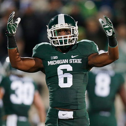 Former MSU defensive back Mylan Hicks, shown here in